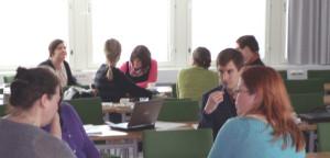 Ensimmäinen koulutuspäivä Hämeen ELY-keskuksessa Lahdessa oli suunnattu rakennerahasto-ohjelman rahoittajille